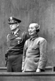 Matsui Iwane (27 July 1878 – 23 December 1948) was a general in the Imperial Japanese Army and the commander of the expeditionary forces sent to China in World War II. He was convicted of war crimes and sentenced to death by hanging by the International Military Tribunal for the Far East for being responsible for the Nanking Massacre.