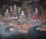 The Mogao Caves, or Mogao Grottoes (Chinese: mogao ku) (also known as the Caves of the Thousand Buddhas and Dunhuang Caves) form a system of 492 temples 25 km (15.5 miles) southeast of the center of Dunhuang, an oasis strategically located at a religious and cultural crossroads on the Silk Road, in Gansu province, China.<br/><br/>  The caves contain some of the finest examples of Buddhist art spanning a period of 1,000 years. The first caves were dugin around 366 CE as places of Buddhist meditation and worship. The Mogao Caves are the best known of the Chinese Buddhist grottoes and, along with Longmen Grottoes and Yungang Grottoes, are one of the three famous ancient sculptural sites of China.