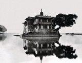 Jin Shan Shi or Gold Mountain Temple, Min River, Fujian, c. 1870, taken by Scots photographer John Thomson.